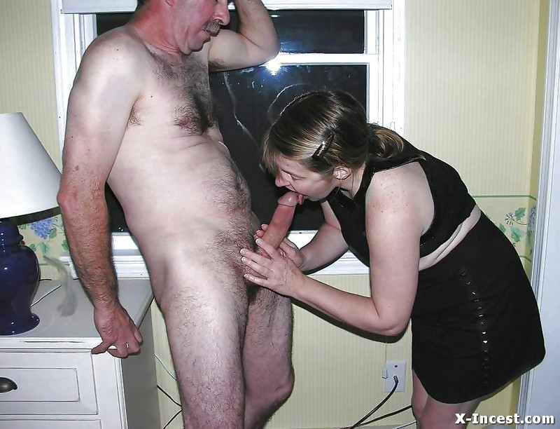 Amateur mom and boy tube