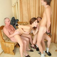 They are Largest family orgy with the